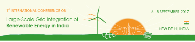 Banner of the Renewables Grid Integration Conference in India